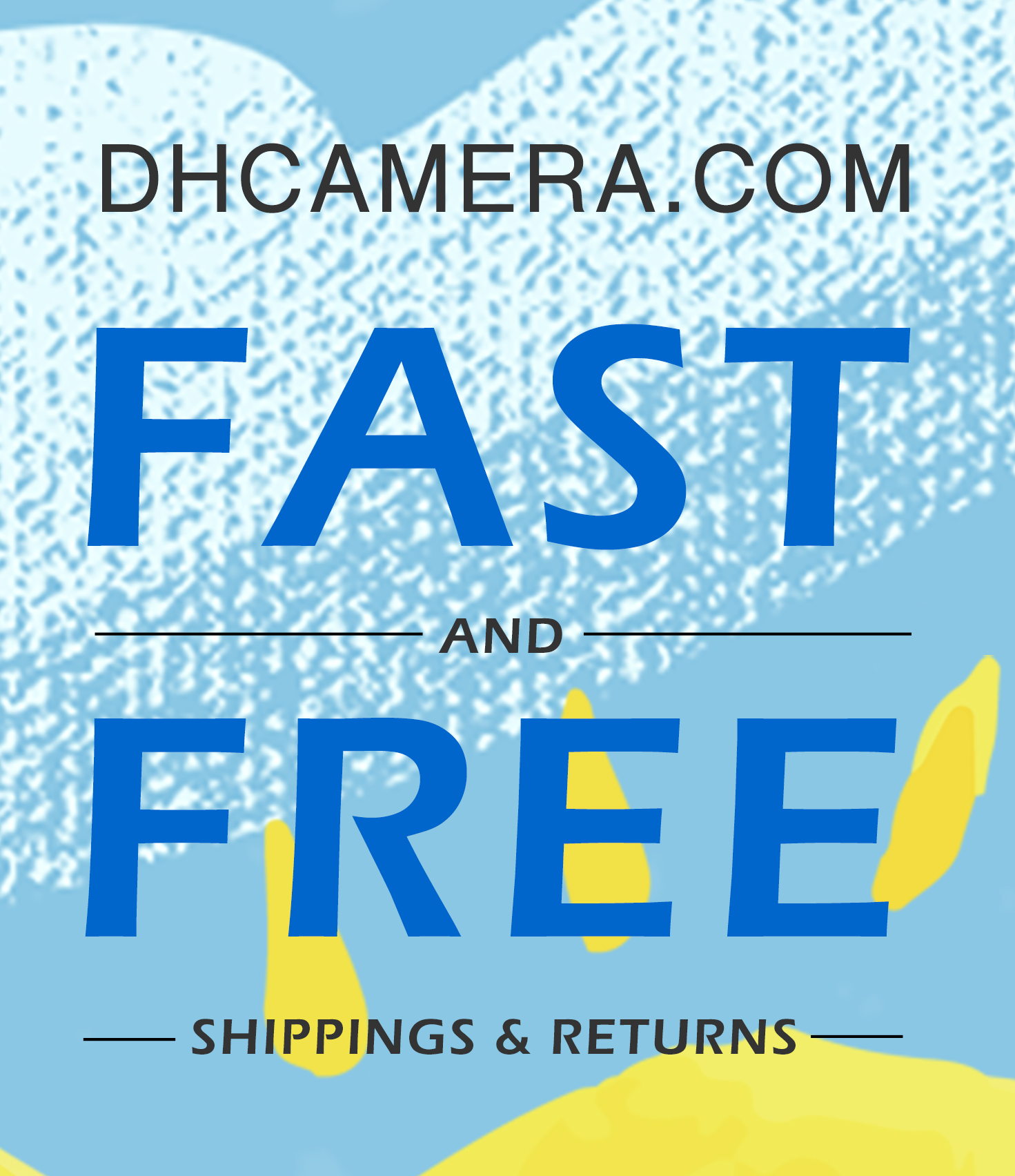 FAST AND FREE SHIPPING AND RETURN